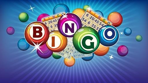 Bingo karty i plansze z numerami do gry, kule do wybrania numeru