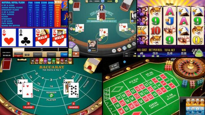 baccarat, stoły, automaty, sloty, karty, ruletka, kasyno